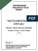 Que es la Instrumentacion Virtual
