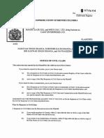 Gill v Dhanoa - Civil Claim