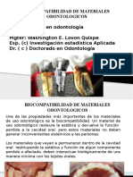 BIOCOMPATIBILIDAD DE MATERIALES DENTALES