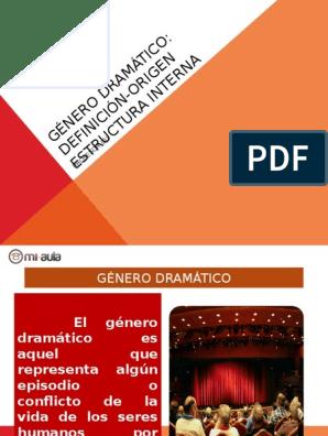 Apunte 1 Genero Dramatico Estructura Interna 58746 20150728