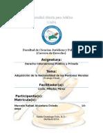 Adquisición de La Nacionalidad de Las Personas Morales (Final)