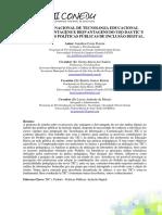 Programa Nacional de Tecnologia Educacional (Proinfo)