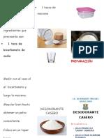 Criptico Desodorante Casero