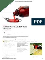 Jarabe de Zanahoria Para La Flema - Barcelona Alternativa