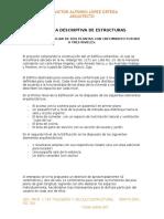 MEMORIA DE CÁLCULO ESTRUCTURAL ARQ. RPBERTO PEREZ..docx