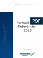 2015 REFERENCE FORM - VERSION 10
