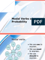 Modal Verbs of Probability Through the Song