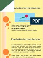 EMULSOES FARMACEUTICAS 2014