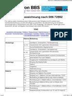 Klemmenbezeichnung nach DIN 72552
