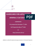 ARIMNet 2 Guidelines for Applicants_18_sept_2014