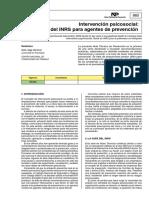 6 Modelo de Intervención Psicosocial - Prevencion -Inrs