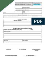 Formato - Permiso de Salida de Vehiculos 2015