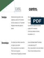 Comparacion Entre Centro