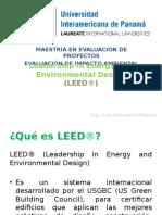 Invest Evaluac Impacto Ambiental LEED