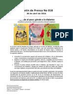 Boletín 018 Apúrale Al Paso Gánale a La Diabetes