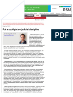 Joe Sweeney Court Reform LLC Daily Journal Op-Ed
