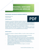 Perfil Urgencias Medicas