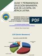 12 Impulso, Auge y Permanencia de La Produccion Bananera, Presencia de La CEPAL en America Latina.