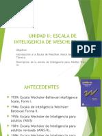 Wais IV - Ficha Técnica