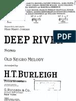 Deep River (High Voice)