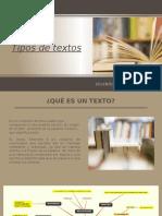 Tipos de Textos Listos