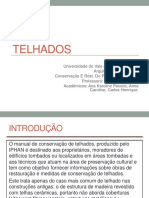 Manual IPHAN de restauro e conservação de telhados