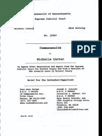 Michelle Carter Appellant Brief