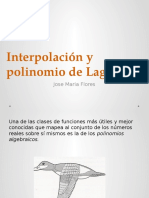 Interpolacion de Lagrange.pptx