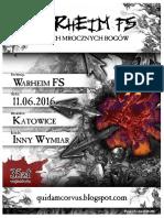 Regulamin Turnieju Warheim Fs Katowice 20160611