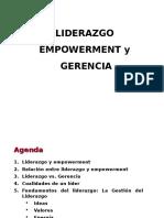 Liderazgo, Empowerment y Gerencia Corregido 3