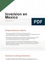 Geotermica en Mexico