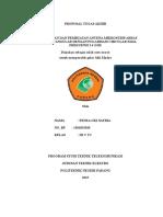 Proposal Antena Mikrostrip Stacking