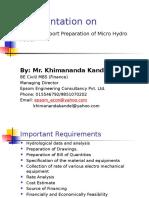 BoQ and Reporting_Micro Hydro