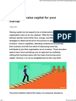 12 Steps to Raise Capital for Your Startup