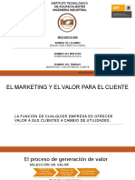 Marketing y dfdsfValor Para El Cliente