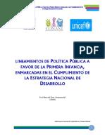 Lineamiento de Politica Publica a Favor de la Primera Infanc.pdf