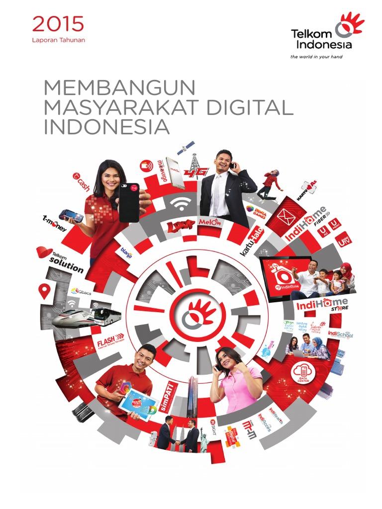 Laporan Tahunan Telkom 2015 2ce6c5926c