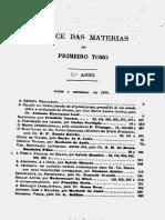 A Revista Brazileira, De Junho a Setembro de 1879