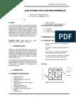 Informe_Construccion de Un Robot de Plataforma Diferencial