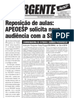 S.E.E. vai republicar Instrução sobre reposição de aulas com retificações ((Fax 4710)