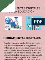 Herramientas Digitales de La Educación
