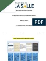 Bases Revistas Indexadas Taller