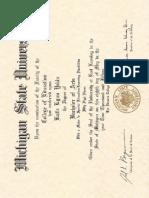 yekin diploma