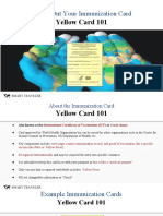 filling out your immunization card yellow card 101