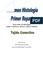 Resumen Tejido Conectivo - Gartner 2