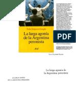 Tulio Halperin Donghi - La Larga Agonia de La Argentina Peronista