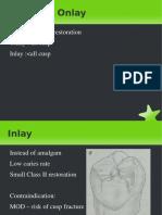 Inlay Onlay