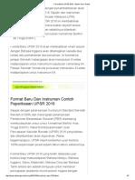 Format Baru UPSR 2016 - Sistem Guru Online