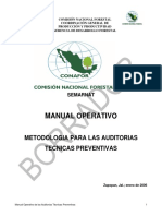Metodologia Para Las Auditorias Tecnicas Preventivas
