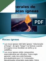 Expo Minerales de Las Rocas Ígneas